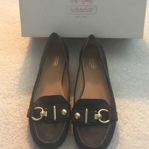 Coach Elly Loafers Brown -Size 9